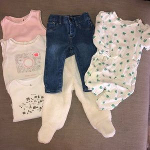 Lot of 6-12 mo. Gap Clothes 6 Items